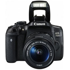 Canon EOS 750D SLR-Digitalkamera inkl. EF-S 18-55 mm IS STM Objektiv